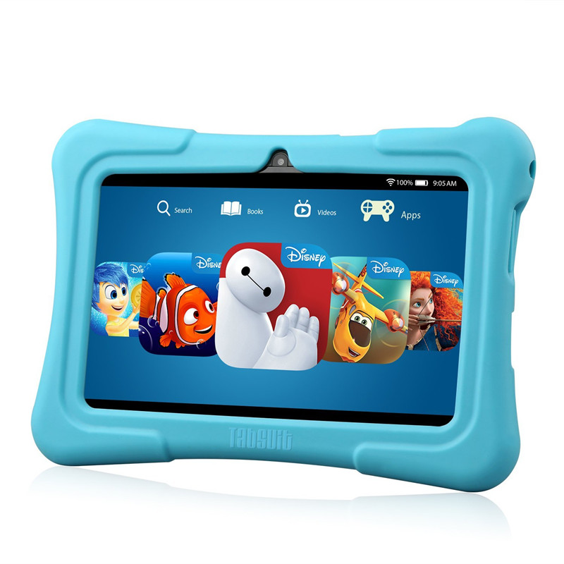 Dragon touch Y88X PLUS 7'' Kids Tablet for Children Quad Core IPS Screen 1024*600 Android 5.1 1GB+8GB Wifi Babypad With Case 609787 001 free shipping laptop motherboard for hp pavilion dv7t dv7 4000 hm55 ati ati hd5470 512 ddr3 da0lx6mb6h1