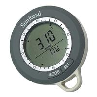 Multi Function LCD Digital Fishing Compass History Clock Calendar For Hiking Hunting Camping Outdoor Tool