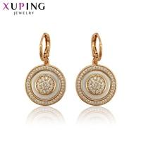 Xuping Exquisite Gold-plated Oordruppels Oorbellen Mode-sieraden voor Vrouwen Eenvoudige Kerstcadeaus S118.1-97651