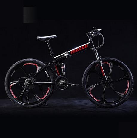 Markë e re 24/26 inç çeliku karboni rrota 21/24/27 biçikletë - Çiklizmit - Foto 6