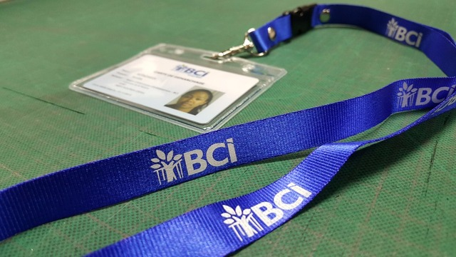 180pcs id badge hoder 180pcs print lanyards with double print to