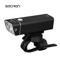2017 GACIRON V9F 600 Lumens Bicycle Headlight IPX6 Waterproof MTB Road Bike LED Flashlight USB Rechargeable