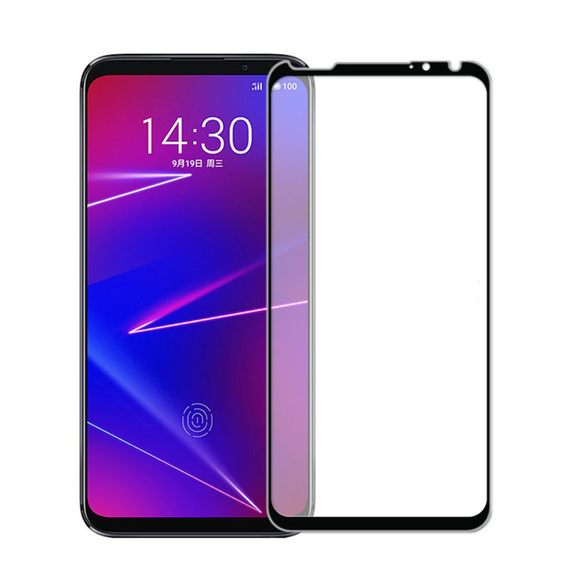 Image 2 - 3D Full Glue High aluminum Tempered Glass For Meizu 16XS Full Cover 9H Protective film Screen Protector For Meizu 16XS-in Phone Screen Protectors from Cellphones & Telecommunications
