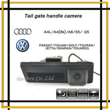 Anti Niebla CCD Runk Mango de 170 Grados Del Coche Del Estacionamiento Del Rearview Cámara de Copia de seguridad para Audi/VW Passat/Tiguan/Golf/Touran/Jetta/Sharan/Touareg