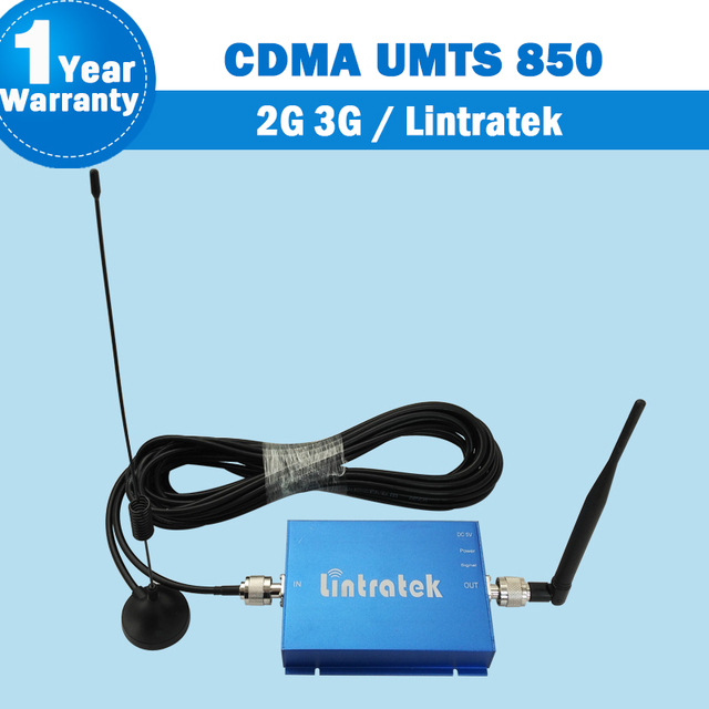 GSM Booster 850 65db Gain CDMA 850MHz Mobile Signal Repeater 3G UMTS 850 Cellphone Booster Amplifier Receiver GSM Antenna Set