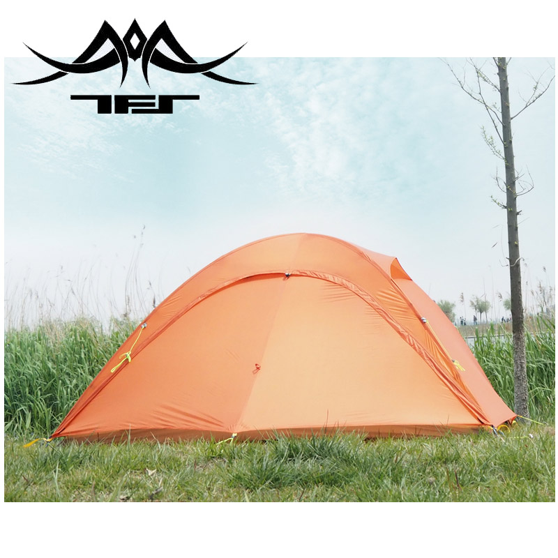 TFS(the Free Spirits) AIR MOUNTAIN Update One-sided Silicon Coating 2-person 4-Season Ultralight Waterproof  Camping Tent Mat