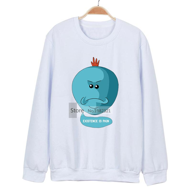 Rick And Morty Hoodie Cotton Anime Sweatshirts Funny Oversized Hoodies Streetwear Moleton Masculino Pickle Rick Sweat Homme Z40