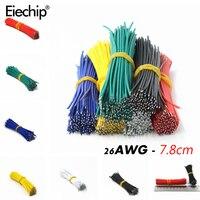 Оловянный макет PCB припоя кабель 26AWG 7,8 см Fly соединительный кабель 1007-26AWG Олово проводник провода разъем провода diy kit 50 шт.