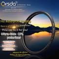 Orsda 37 39 40.5 43 46 49 52 55 58 62 67 72 77 82 86 мм Ультра Тонкий CPL Фильтр для Sony Nikon Canon Pentax Olympus Hoya Объектива 77 Мм