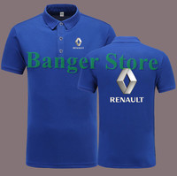 Renault 4S Shop POLO Shirt Short Sleeve Clothes For Women And Men