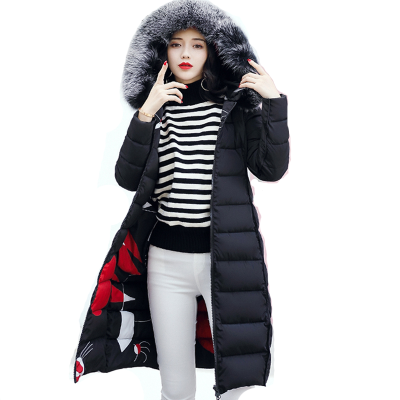 Winter Maternity Jacket Coat for Fur Hooded Pregnant Woman Plus Size 3XL Padded Long Parka Outwear Jaquata Feminina Inverno цены онлайн