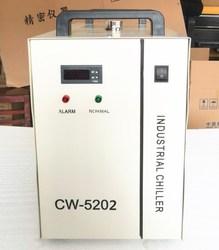 Refroidisseur d'eau de refroidisseur de cw3000 cw5000 cw5200 cw5202, machine de gravure de gravure de laser, protection de refroidissement par eau