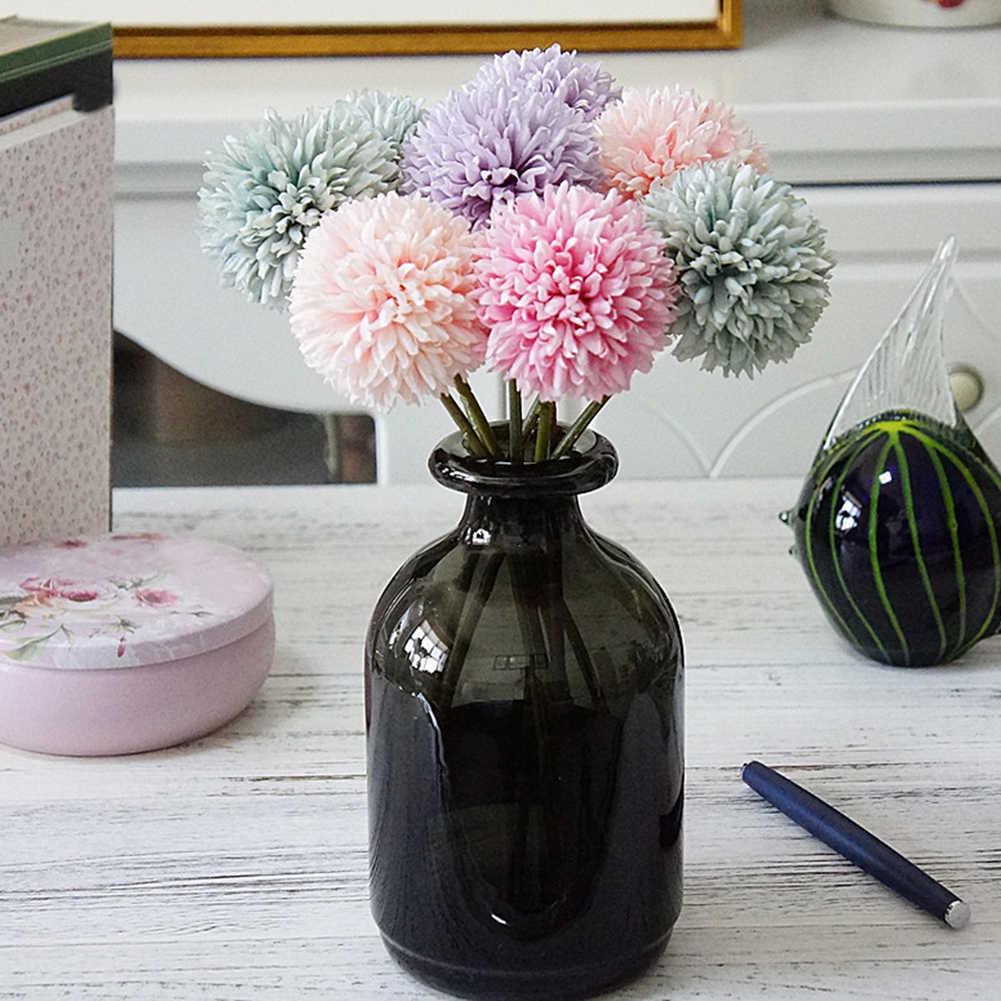 1Pc Artificial Dandelion Fake Flower DIY Wedding Bouquet Party Home  Decoration