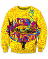 Trippy Lips Sweatshirt awesome comfy sweats light up some kush 3d Print Fashion Clothing  Jumper Outfits Hoodies Plus Size