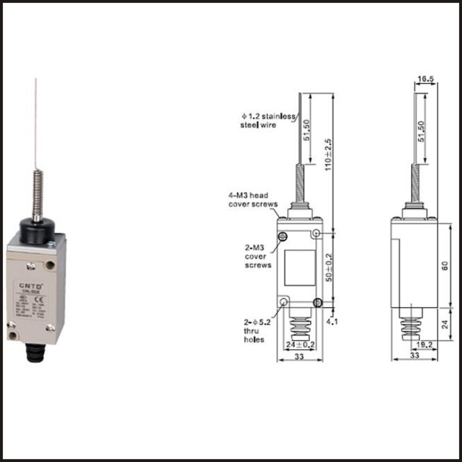 switch travel omron limit switch 10a  250v electrical
