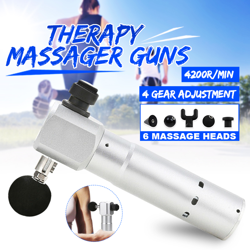 1800-3400RMM Percussive Massager Vibrating Therapy Massage 4 Speed 6 Tips Electric Professional Body Massager  Vibration Relax1800-3400RMM Percussive Massager Vibrating Therapy Massage 4 Speed 6 Tips Electric Professional Body Massager  Vibration Relax