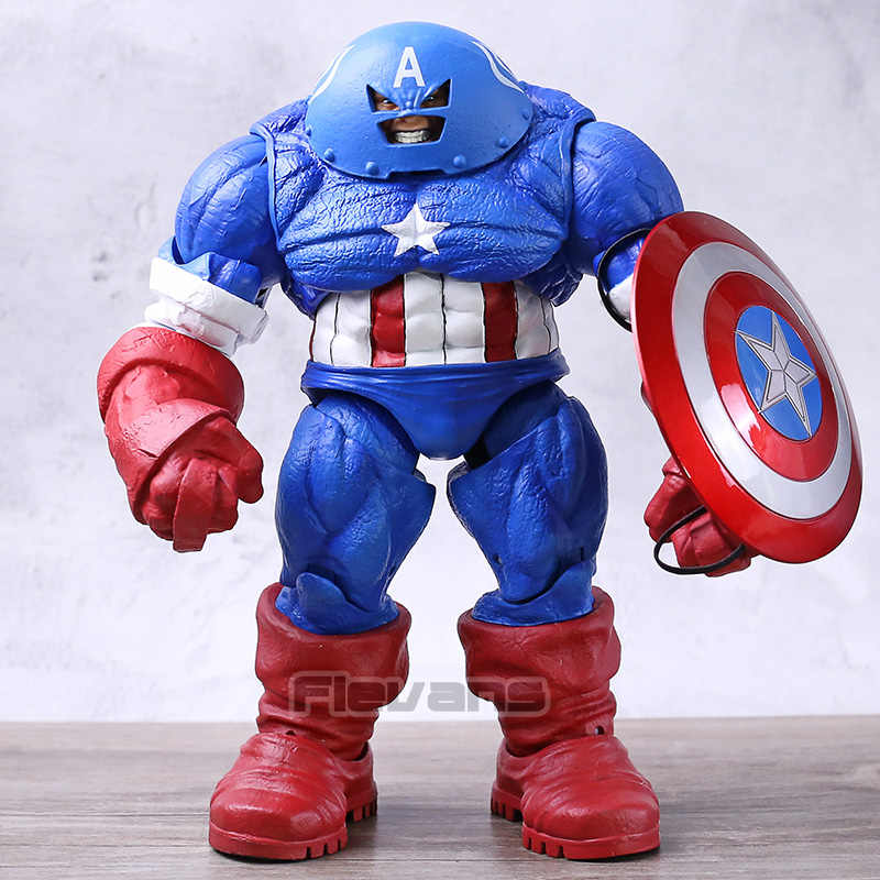 "DST Marvel Select X-Homens Juggernaut Capitão América Personalizado 9 ""Loose Action Figure Collectible Modelo Toy"