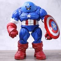 Marvel Select DST X Men Juggernaut Captain America Custom 9 Loose Action Figure Collectible Model Toy