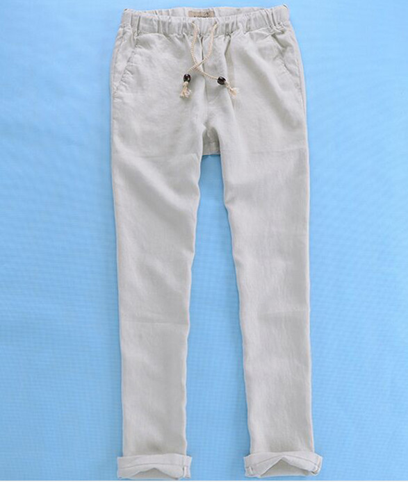 High Quality Fitted Linen Pants Promotion-Shop for High Quality ...