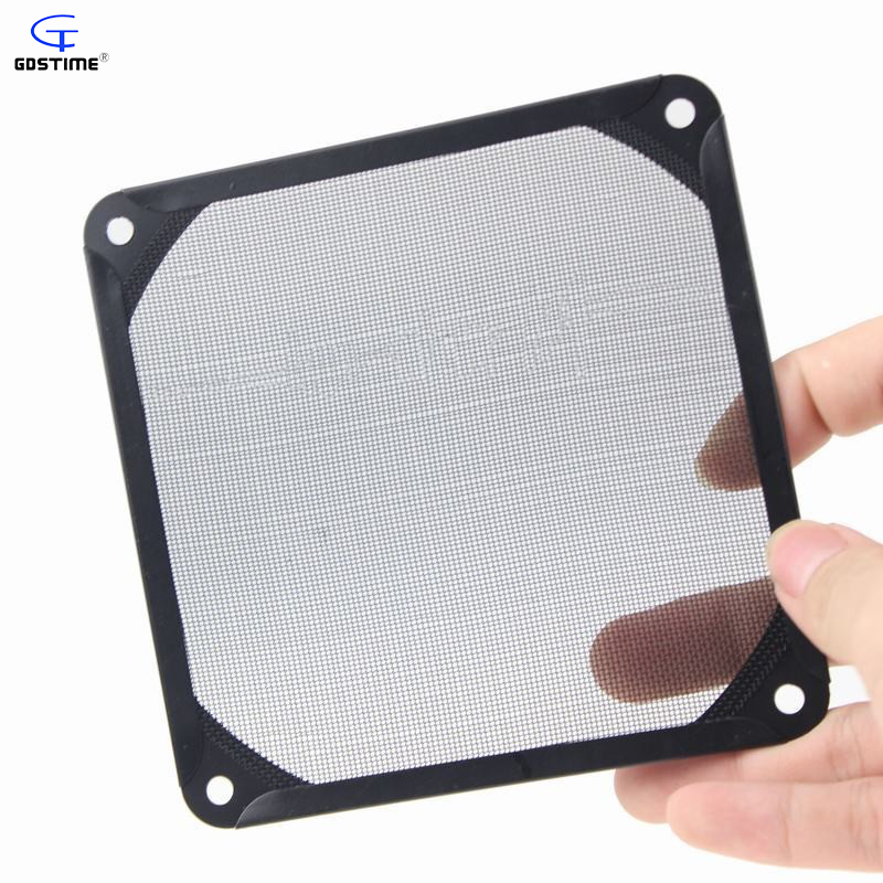 Gdstime 5 Pieces Lot NEW Style 12cm Dustproof Strainer 120mm Case Fan Dust Filter for PC Computer new arrival 5 pieces lot od100 10mm