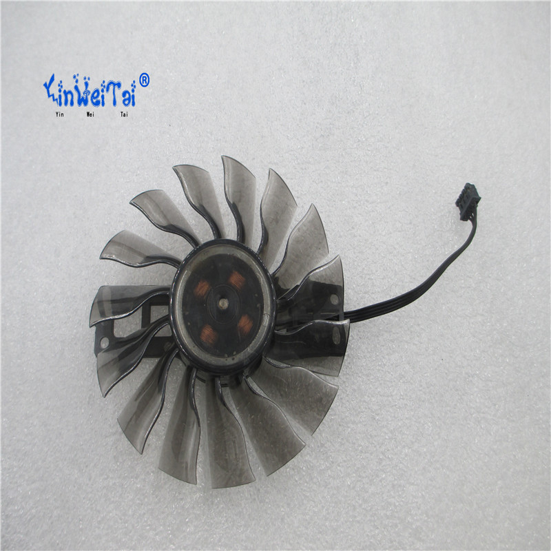 New Laptop CPU Cooling Fan for GEFORCE GTX960 GA92S2H PFTD PFTG 12V 0.35A graphics card fan computador cooling fan replacement for msi twin frozr ii r7770 hd 7770 n460 n560 gtx graphics video card fans pld08010s12hh