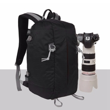 Anti-Theft Backpack Waterproof Professional Camera Bag Ultralight Soft Shoulders For Canon Nikon Camera caden k7 anti theft waterproof nylon camera bag backpack mountaineering bag for dslr camera canon nikon sony back open design