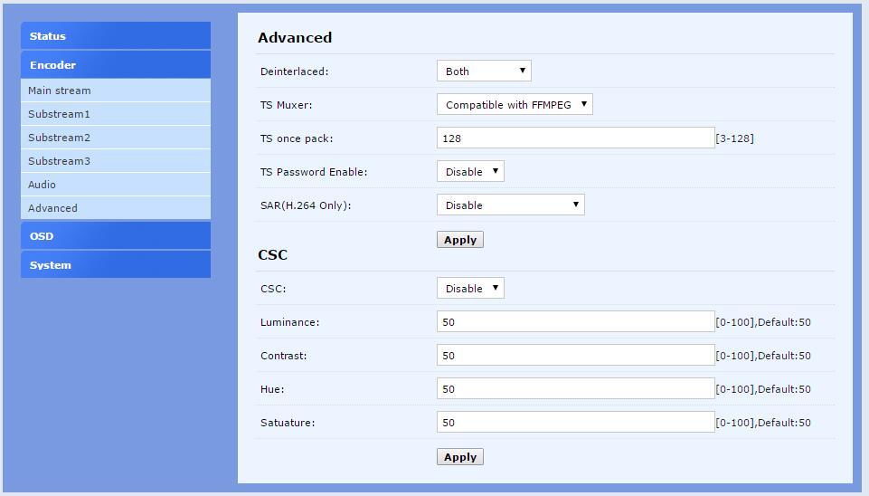 4CH .265 / H.264 SDI Video Encoder unterstützt RTMP für die - Heim-Audio und Video - Foto 5