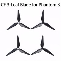 2 Pair 4PCS 9450 Carbon Fiber Propellers Self Tighten 3 Blade Blade Props For DJI Phantom