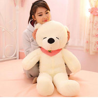 100cm High Quality Squinting Lovely Hug Teddy Bear Large Bear Giant Soft Teddy Bear Plush Toy Gift Plush Ted Plush Teddy Bear