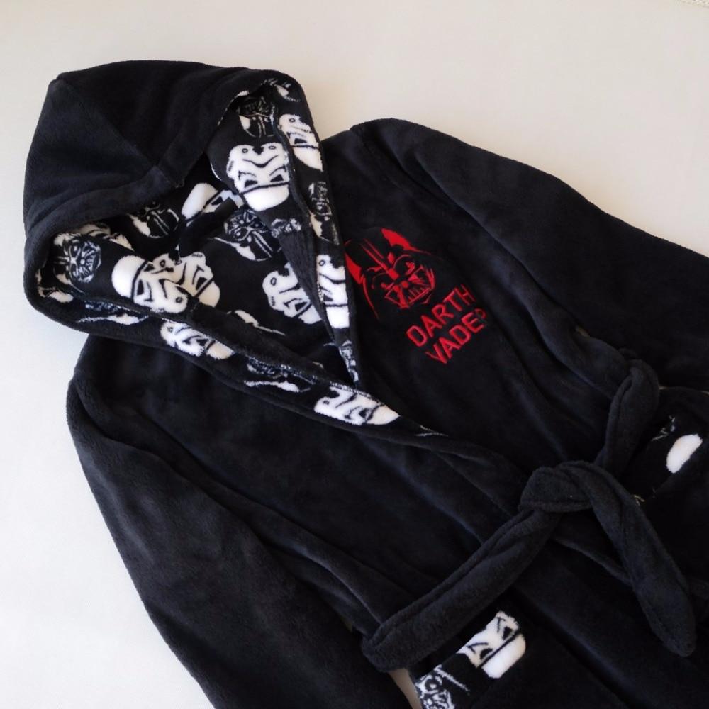 Detail Feedback Questions about Star War Boys Bathrobe Darth Vader Anakin  Skywalker Coral Fleece Kids Pajamas Autumn Winter Warm Children Sleepwear  Bath ... d55c440ba