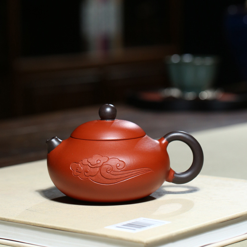 Teaware Yixing Are Recommended By Xia Tao All Hand Shuang Zhu Mud Xiangyun Jade Ceramic Tea-pot Travel Tea Set Gift Kitchen,dining & Bar