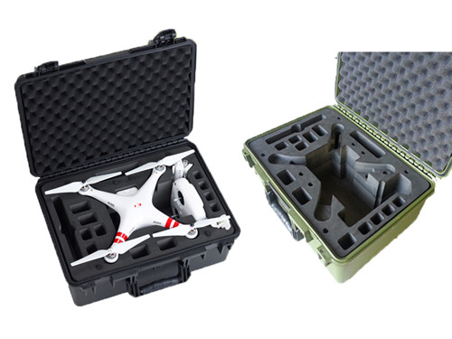 M2608 Shanghai Factory New Products Plastic Carrying Case With Foam For Dji Phantom3