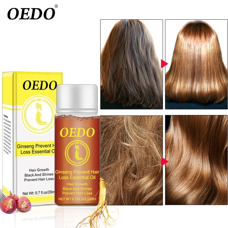 20ML Ginseng Hair Growth Essence Preventing Hair Loss Liquid Damage Hair Repair Treatment Dense Fast Restoration Hair Growth серум за растеж на мигли