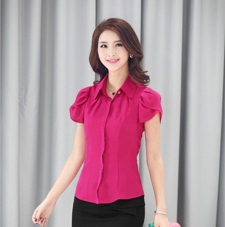 Aliexpress.com : Buy New 2015 Fashion Summer Blouse Women Work ...