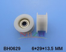 10pcs/lot 6*29*13.5Miniature Bearing H  pulley wheels
