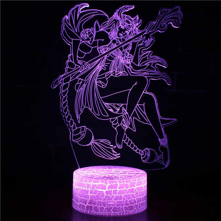 Presente de natal Brinquedos Para Crianças Candeeiros De Mesa Para Sala de estar Mestre Dragão 3d Lâmpada de Mesa Iluminação Cama Candeeiro de Mesa de Cristal
