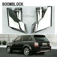 BOOMBLOCK Car Accessories For Land Rover 05 12 Range Rover Gasoline Chrome 304 Stainless Steel Car Exhaust Muffler Tip