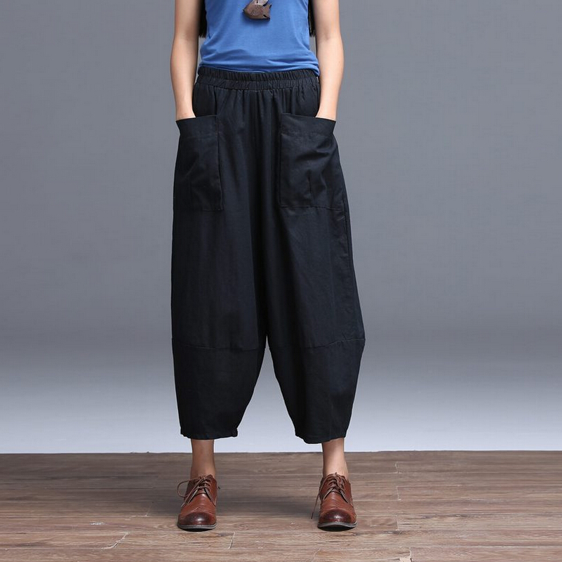 Compare Prices on Linen Capri Pants- Online Shopping/Buy Low Price ...