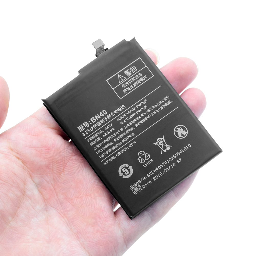 Xiaomi Lithium-Battery Prime Phone Rom-Edition 40-Bn40-Replacement For Redmi 3G 4-Pro