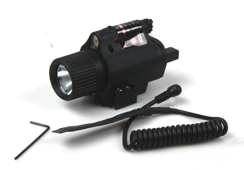 Vruća prodaja M6 200 lumena Taktička iluminator s crvenim laser za - Lov