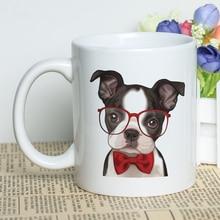 Cool Animals Themed Cup Kawaii 11oz Classic Ceramic Coffee Mug Cute Dogs Cats Design Tea with Printing