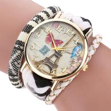 Women's Watch Womens The Sleek Stylish And Chic Knit Bracelet Watch Ladies Decorative Casual wristwatches AT1
