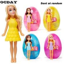 656744de561c0 Ocday熱い販売卵ボール人形劇場女の子赤ちゃんのおもちゃマジック美しいドレス変更衣装ロールプレイフィギュアおもちゃ用子供