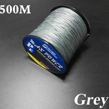 500M Germen Quality Max Power Series 4 Strands Super Strong Japan Multifilament PE Braided Fishing Line 10 20 30 40 60 90LB