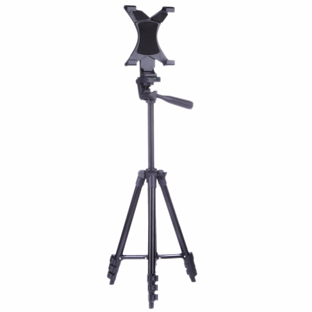High Quality Professional Camera Aluminum Tripod Stand Holder For iPad 2 3 4 Mini Table/PC Holder For Air Pro For Samsung