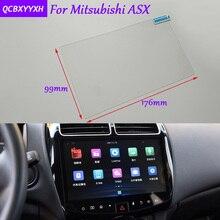 De coches de Estilo 8 Pulgadas Etiqueta Protectora de la Película de Cristal de la Pantalla de Navegación GPS Para Mitsubishi ASX Accesorios de Control de la Pantalla LCD
