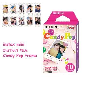 Image 5 - Genuine Fujifilm Instax Mini Film Stripe + Candy Pop + White Film 3 Packs For Fuji Instant Mini 8 9 70  90 25 Camera SP 1 SP 2