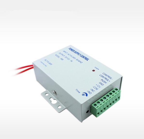 Envío libre 12 V 3 Una fuente de alimentación de control de acceso caja/estable Cerradura Eléctrica de Alimentación
