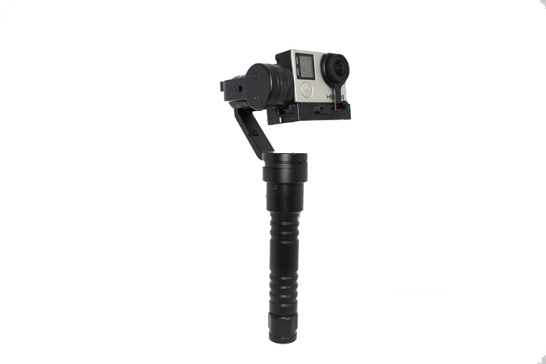 F16558 Beholder GOPRO4/3+ GOPRO3 Auto stabilizing Handheld Stabilizer 3 axis Gimbal for gopro sports camera