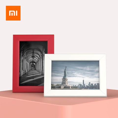 Xiaomi 6 Inches Photo Frame Solid Simple Photo Frames For Pictures Modern Art Home Bedroom Decor Family Picture Display Pakistan